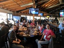 Poggio Lab NIPS reunion lunch!